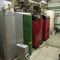 Nuevo Cambio de Caldera de Biomasa por Caldera de Biomasa Okofe