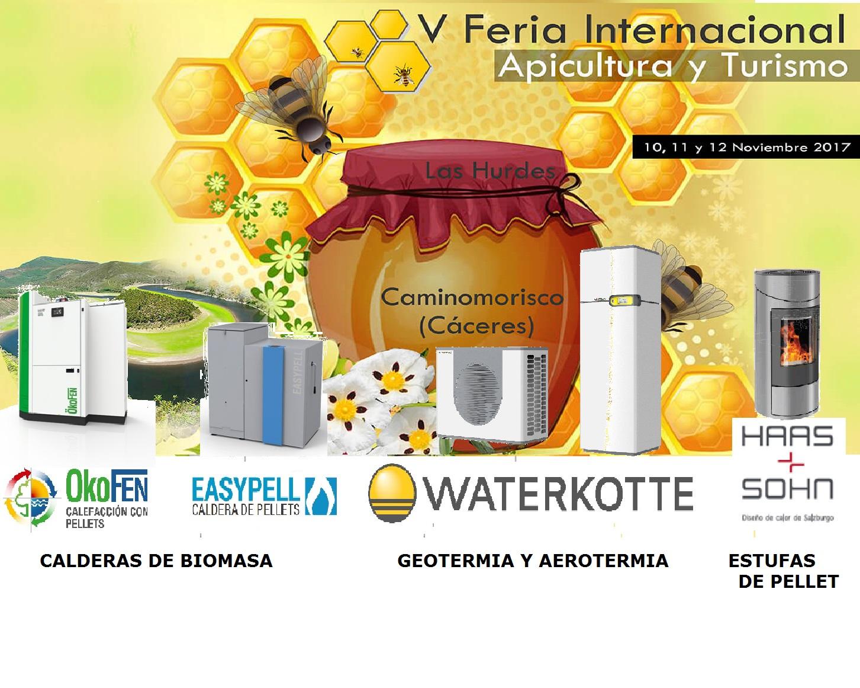 OKOFEN, WATERKOTTE Y HAAS+SOHN en la feria de apicultura y turismo de CAMINOMORISCO
