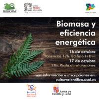 JORNADA: BIOMASA Y EFICIENCIA ENERGETICA